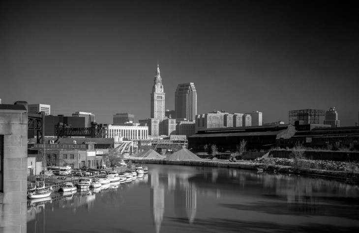 cleveland, cityscapes, terminal tower, cuyahoga river