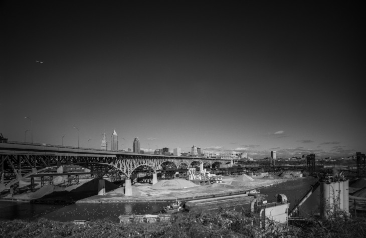 cleveland, cityscapes, bridge