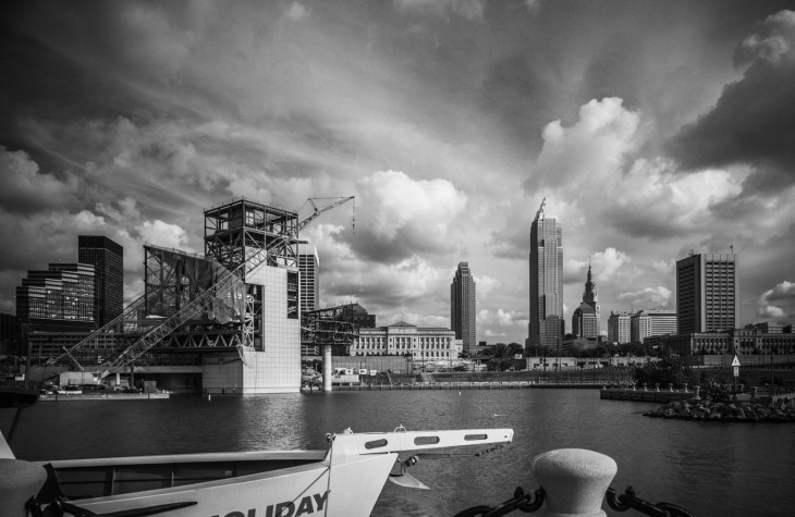 cleveland, cityscapes, great lakes science center