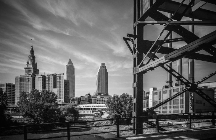 cleveland, cityscapes