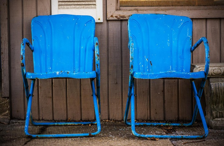 twin blue chairs murray hill cleveland