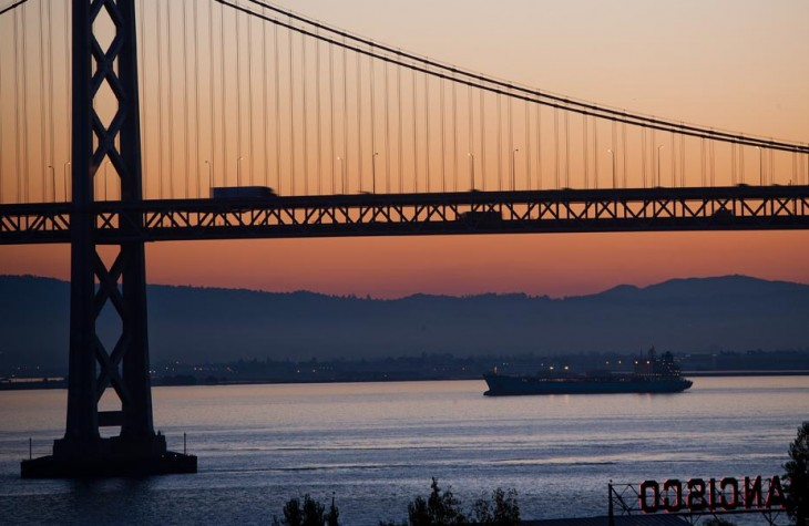 san francisco, golden gate, sunset