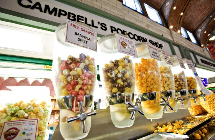 west side market popcorn