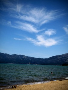 Clouds, Lake Tahoe